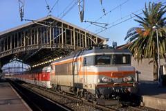 SNCF 7296 - Perpignan (Neil Pulling) Tags: gare sncf talgo 7296 bb7200 catalantalgo gareperpignan nezcassé