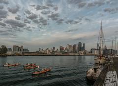 Kayak Tours! (Ian M's) Tags: kayak melbourne docklands nikon7100