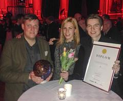Mingel på Web Service Award-dagen 2014