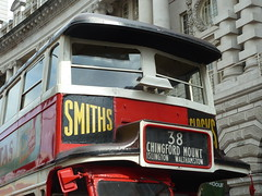 Regent Street Bus Cavalcade (Richard and Gill) Tags: london regentstreet londontransport tfl londonbuses transportforlondon aec renown yotb gk5323 lt165 yearofthebus buscavalcade
