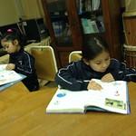 BIBLIOTECA CRA En la Escuela Aurora de Chile.
