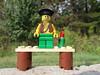Bench Monday: Lego Pirate Edition (pikespice) Tags: 10millionphotos werehere hereios bench benchmonday lego sooc bokeh bokehlicious arrr