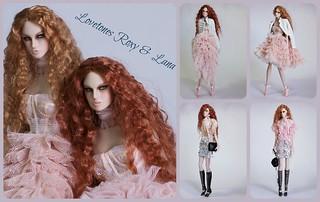 Lovetones Romantic Era Roxy and Lena
