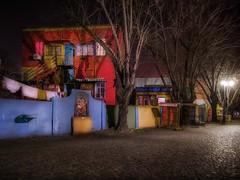 Empty streets (karinavera) Tags: travel nikond5300 street urban city laboca argentina longexposure night wallart buenosaires