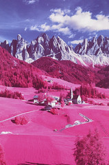 Funes (fra_padovani) Tags: aerochrome infrared