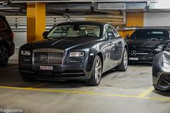 Yuppie Garage (aguswiss1) Tags: rollsroycewraith rolls royce wraith rollsroyce mercedes sls lastedition amg roadster cabrio ferrari f12 gl63 supercar fastcar car auto switzerland millionaire sportscar 300kmh 200mph v12 racer cruiser