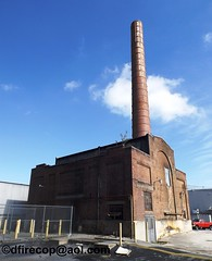 Pensupreme Heating Plant, Smoke Stack. 400 North George Street, York, PA. Built 1940's (2) (dfirecop) Tags: dfirecop pensupreme plant york pa boiler heating smoke stack 400 north georgestreet built 1940s 1940