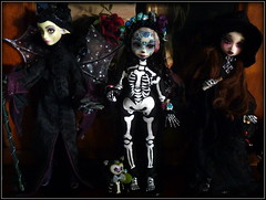 Preview poupes LDoll 2016 6eme dition (TwilightSoulDolls by Belin) Tags: twiligh soul dolls bjd ldoll halloween kira sally elvira lotus