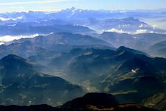 Mont Blanc (oobwoodman) Tags: aerial aerien luftaufnahme luftphoto luftbild alps alpen alpes mountains montagne berge clouds wolken nuages gvafra france frankreich frenchalps montblanc