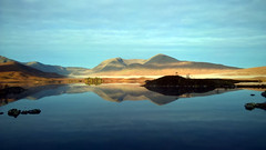 Lochan Nah Achlaise (JimGer947) Tags: glencoe kinlochleven october west highland way rannoch moor autumn scotland hill walking loch ba lochan nah achlaise kingshouse hotel a82