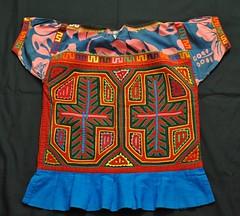 Kuna Guna Blouse Molas Panama (Teyacapan) Tags: blouses panama guna kuna cuna molas textiles clothing