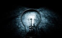 Low light (Eduard.I.P) Tags: low light bulb idea blue