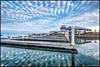 Empty Docks @ Sunrise (Nikographer [Jon]) Tags: hemingways sunrise 20160312d810033358 winter mar march 2016 d810 nikon nikond810 nikographer clouds blue docks marina