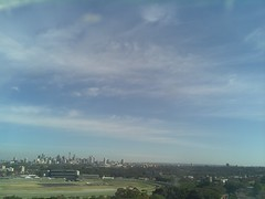 Sydney 2016 Oct 21 08:28 (ccrc_weather) Tags: ccrcweather weatherstation aws unsw kensington sydney australia automatic outdoor sky 2016 oct earlymorning
