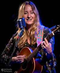 Margo Price @ Tractor Tavern (Kirk Stauffer) Tags: kirk stauffer photographer nikon d5 adorable amazing attractive awesome beautiful beauty charming cute darling fabulous feminine glamour glamorous goddess gorgeous lovable lovely perfect petite precious pretty siren stunning sweet wonderful young female girl lady woman women live music tour concert show stage gig song sing singer singing vocals vocalist perform musician band lights lighting indie country long brown hair brunette red lips blue eyes model tall fashion style portrait photo smile smiling acoustic guitar