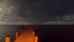 20161018_192149 (rolyrol1982) Tags: storm shadow bad weather florida keys key largo ocean pier dock