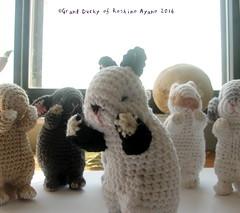 Amigurumi Baby Bunny Himalayan (ayano-pany) Tags: amigurumi amigurumibunny crochet bunny babybunny lapin conejo himalayan sleepy