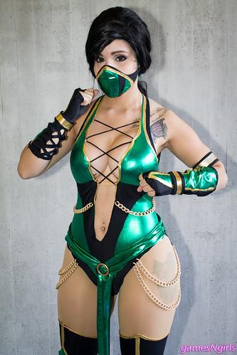 Jade Mortal Kombat Cosplay A Photo On Flickriver