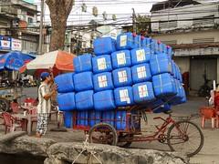 IMG_3363 (program monkey) Tags: mekong delta vietnam river cargo bicycle bike tricycle loaded dock ben tre tra vinh