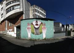 Bonus Wall - Malakkai - Desordes Creativas 2105 (A. L. Crego) Tags: malakkai desordescreativas ordes street art arte urbano calle manos ataduras cadenas alcrego gif mutante creativo a l crego