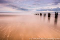 Towards the deep (Richee Wilson) Tags: sandsend whitby beach groyne ocean sand sea seascape