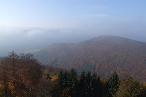 View from Château de Hohenbourg, 01.11.2011.