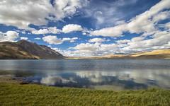 Tso Moriri (Fil.ippo) Tags: tsomoriri lake altitude india ladakh mirror reflection water sky clouds landscape nature filippo filippobianchi d610 travel riflessi lago