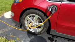 How I secure my EVSE charge cord while charging away (Detroit Imagery) Tags: evse locking lock cable theft prevention charge cord chevy volt chevyvolt