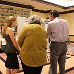 Capstone poster presentations.