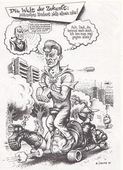 Robert Crumb / Endzeit Comics / page 163 (micky the pixel) Tags: comics comic comix undergroundcomics buch book livre zweitausendeinsverlag robertcrumb endzeitcomics future zukunft vehicle
