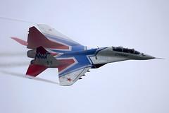 MiG-29UB at MAKS 2013 (atg3v) Tags: mikoyan mikoyangurevich mig mig29 mig29ub c russia russiaaf russiaairforce ramenskoye zhukovsky zia uubw maks maks2013  aviation fighter 11blue