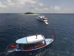 Boats (yepabroad) Tags: maldives malé surf bodyboard atoll baa raa swiss oomidoo drone