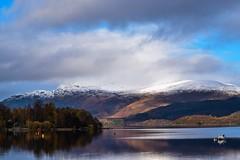 DSC_0100_edited (Polleepops) Tags: luss scotland landscapes blackandwhite lochs water