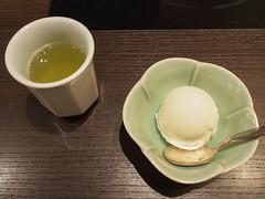 Tea & Ice Cream (INZM.) Tags:       food japan japanese kaiseki style      sashimi kisoji  dinner       ice tea