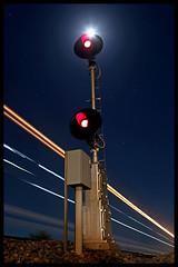 Lunar Searchlight (golden_state_rails) Tags: up union pacific sp southern espee mortmar salton sea california ca yuma subdivision qwctu searchlight lunar uss switch signal