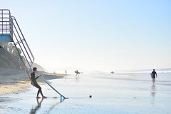 Relax (jerryyflms) Tags: photography surf surfphotography surfboard cardiff sandiego california art minimalism space water movement sun morning sunrise