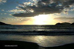 THE BLACK  CLOUD _0011 (Chris Maroulakis) Tags: attica palaia fokaia sea sunset cloud black nikon d50 chris maroulakis 2010 anavissos