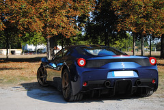 Ferrari 458 Speciale (MarcoT1) Tags: ferrari 458 speciale germany hockenheim racing days nikon d3000