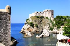 Remparts et fortifications de Dubrovnik  (philippedaniele) Tags: remparts fortifications mer dubrovnik vividstriking
