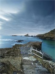 Le plongeoir [EXPLORE] (guillaumez.wix.com/photographie) Tags: biarritz longexposure plongeoir poselongue filters nisi little stopper oceanscape seascape rocherdelavierge
