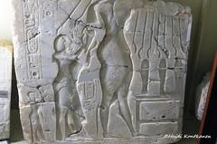 Amarna Family (konde) Tags: aten amarnaperiod 18thdynasty newkingdom telelamarna akhenaten ekhnaton nefertiti alabaster cartouche meritaten petriemuseum ancientegypt art elamarna