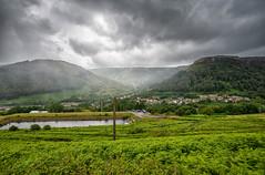 Rain coming into the valley (technodean2000) Tags: rain is comming coming rhondda valleys blaenrhondda
