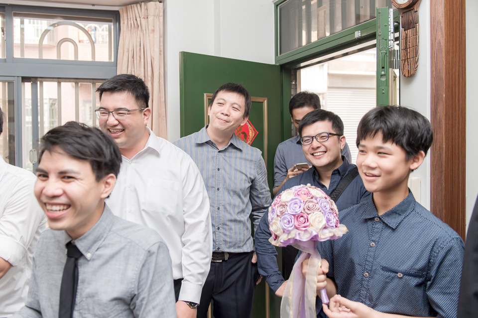 台南婚攝 婚禮紀錄 情定婚宴城堡 C & M 037