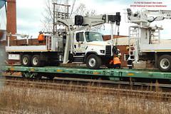 Chain 'Em Down (Milwaukee beerNut) Tags: up wi racine cnw 605 mow maintenance trackwork relay