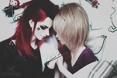 Wish (The Funerals.) Tags: bjd abjd ball jointed doll dolls art emo punk yaoi cosplay uke love kingdomhearts jrock couple angelic
