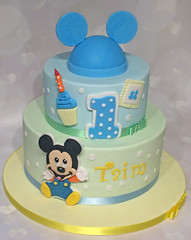 Baby Mickey 1st Birthday