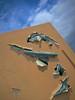 3D Mural (suenosdeuomi) Tags: johnpugh georgerrmartin jeancocteaucinema santafe newmexico canons90