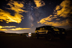 Mobile Office (Zach Dischner) Tags: adventure fun roadtrip summer milky way galaxy truck toyota tacoma night light painting mobile sky dark long exposure cool