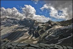 A view from the Refuge of Matterhorn & Hörnli, No, 1875. (Izakigur) Tags: cervin cervino zermatt helvetia flickr switzerland schwyz swiss nikon nikkor dieschweiz feel suiza liberty lepetitprince europa europe svizzera suizo suïssa suisia sch lasuisse climb every mountain ch climbeverymountain summer switzerlnad d200 schweiz kantonwallis wallis valais