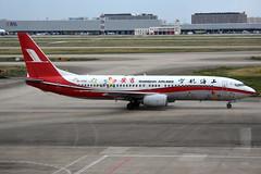Shanghai Airlines B-5132 (Howard_Pulling) Tags: shanghai pudong airport pvg china chinese aircraft howardpulling